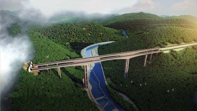 BIM桥梁施工动画