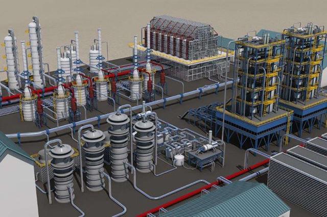 数字化工厂 3D 可视化项目