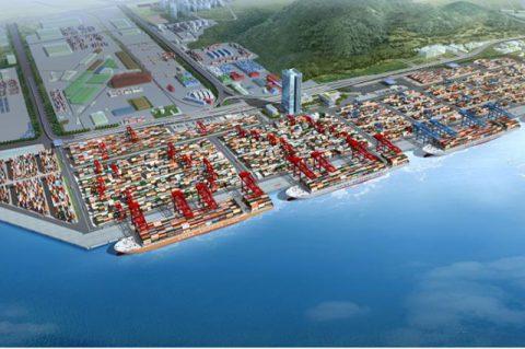 智慧港口3D可视化项目